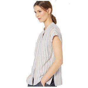 William Rast Sammie Multi Hurricane Stripe shirt
